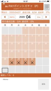 ガチャ検証4月